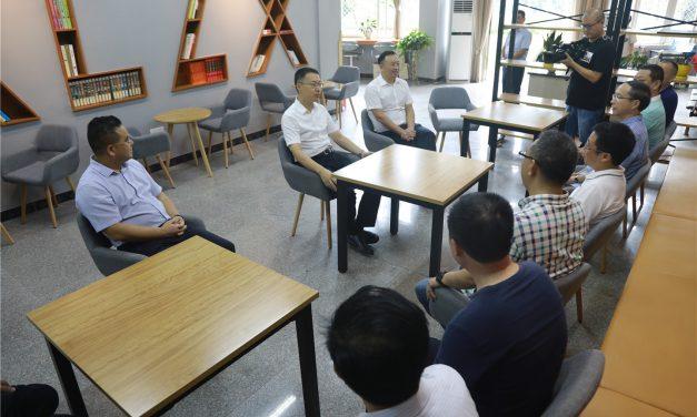 县委孙书记赴西充中学开展教师节慰问活动