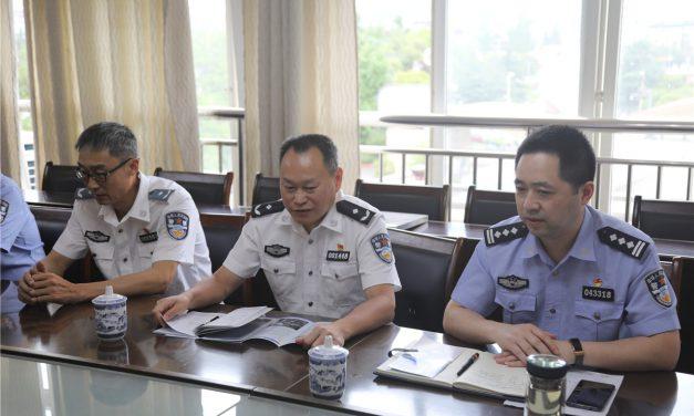 """四川警察学院将第一个""""优质生源基地""""荣誉授予我校"""